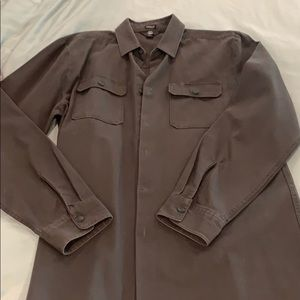 Volcom shirt jacket army green